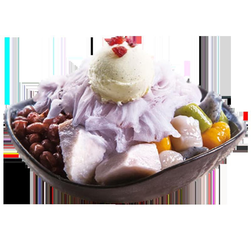 香芋雪花冰-清涼冰品