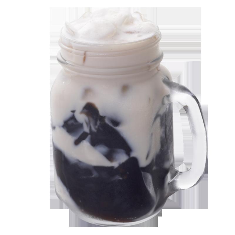 仙草鲜奶冻-茶品系列
