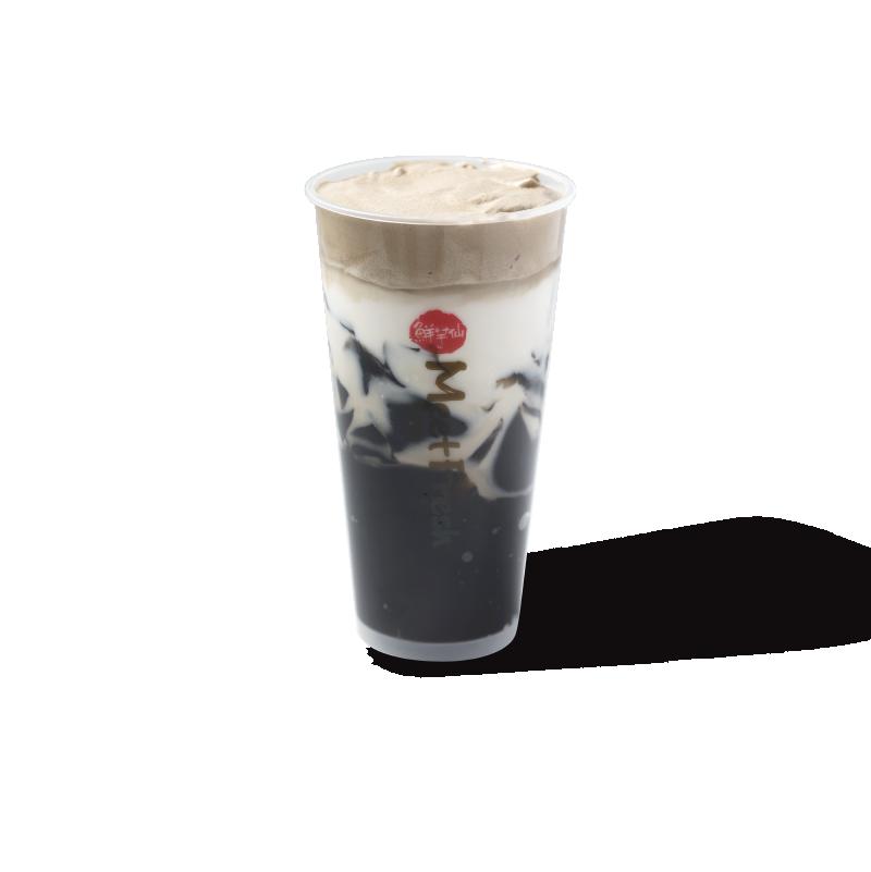 满杯仙草冻牛乳-茶品系列